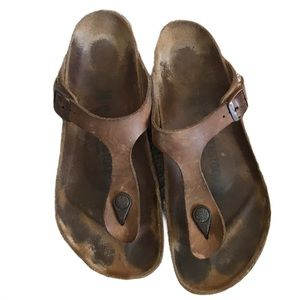 Birkenstock Gizeh Birko Flor Sandals Regular Width